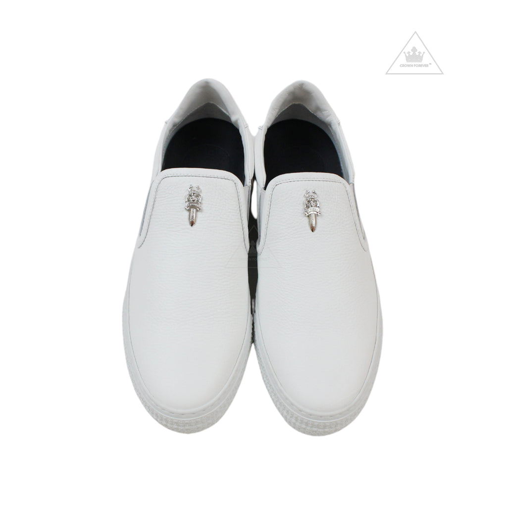 Chrome Hearts Dagger Slip On Shoe Version 2
