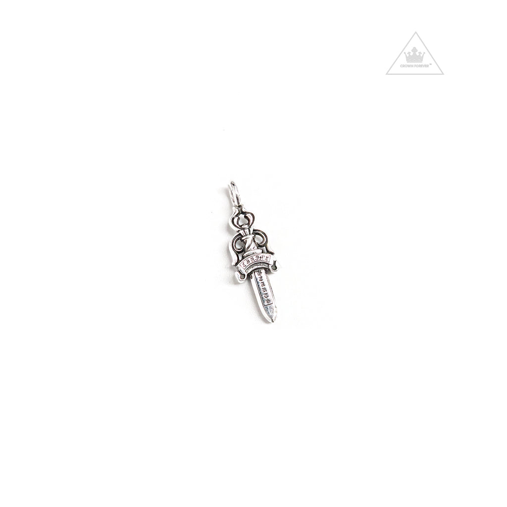 Chrome Hearts Double Dagger Pendant Charm