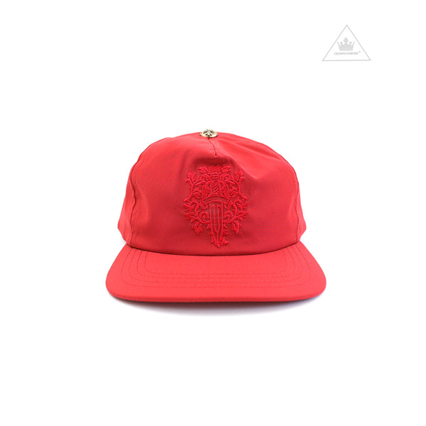 Chrome Hearts Slouchy Five Panel Silk Cap