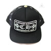 Chrome Hearts Hollywood Patch Trucker Cap Black