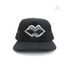 Chrome Hearts Mattyboy Chomper Silver Patch Trucker Cap