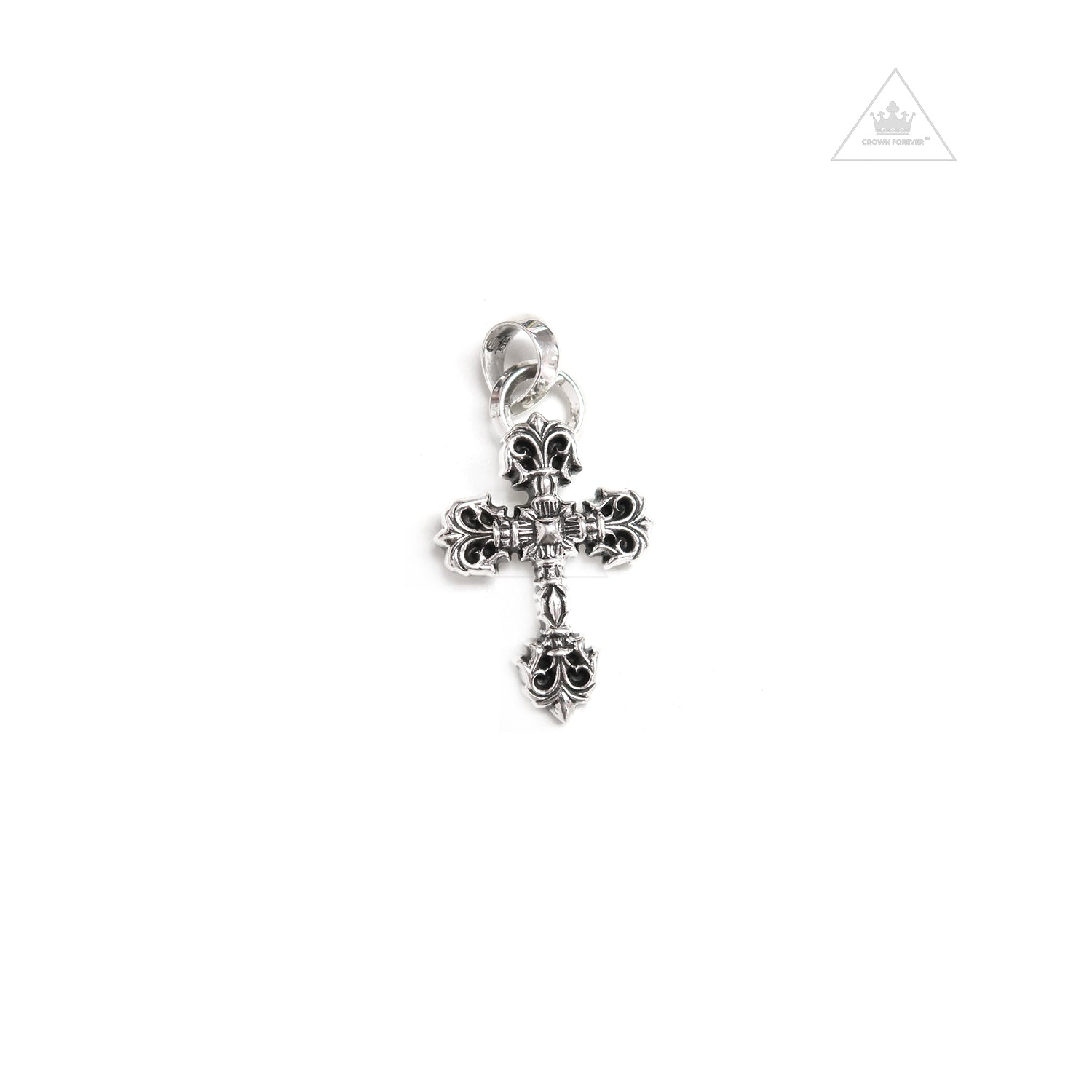 e3df605d60b9 Chrome Hearts Filigree Cross Pendant X Small – Crown Forever