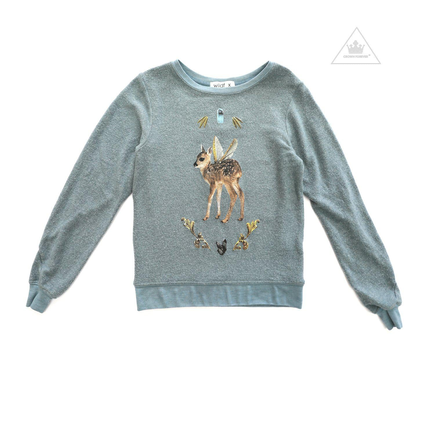 1f2ca853591 Wildfox Kids Magic Fawn Sweater – Crown Forever