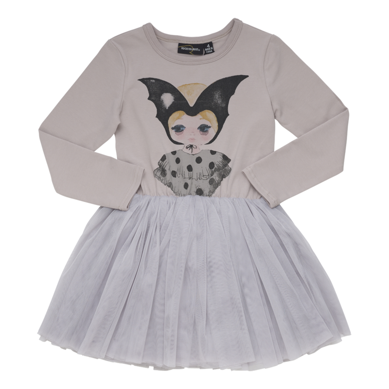 Rock Your Baby Bat Girl Circus Dress