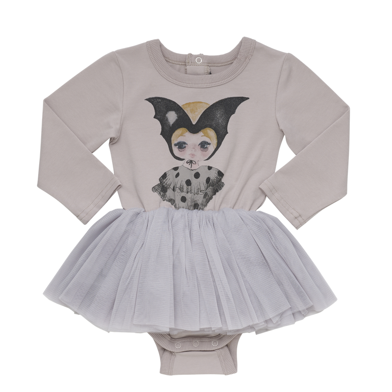 Rock Your Baby Bat Girl Circus Tutu Bodysuit