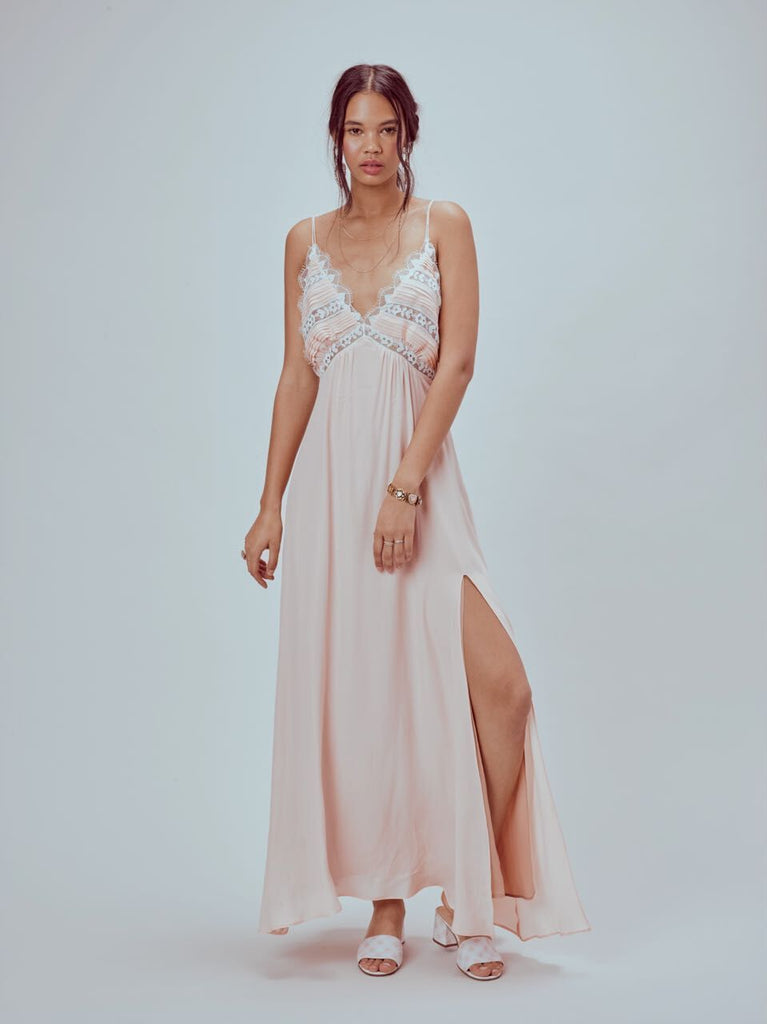 For Love and Lemons Lovebird Maxi Dress