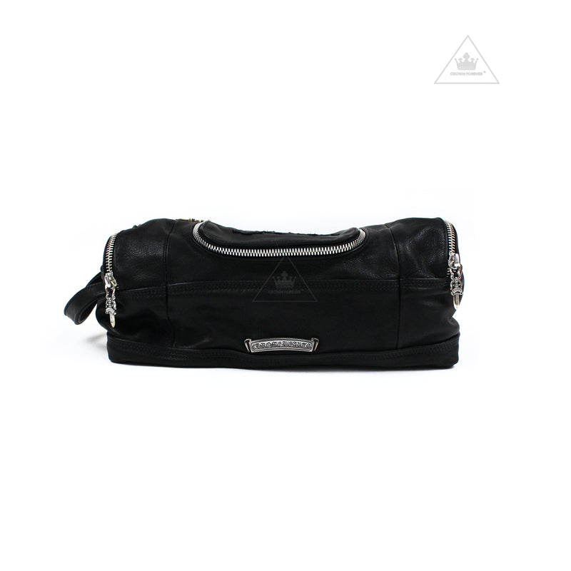 Chrome Hearts Dopp Kit Toiletry Duffle Bag Leather