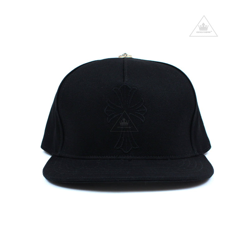 Chrome Hearts Wax Cross Denim Baseball Cap