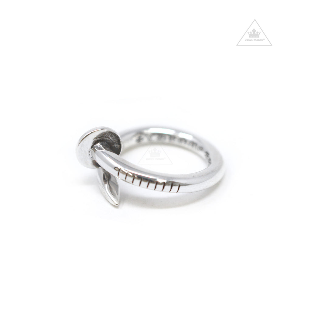 Chrome Hearts Flat CH+ Nail Ring