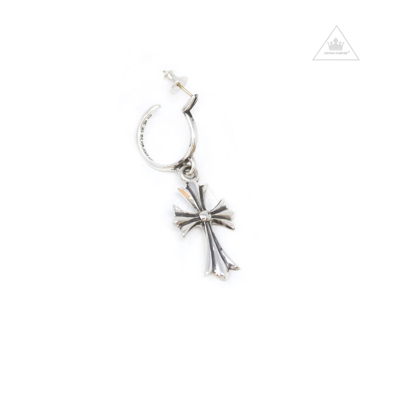 Chrome Hearts Tiny CH Cross Earring