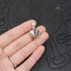 Chrome Hearts Tiny E CH Plus Ring Paved Diamond