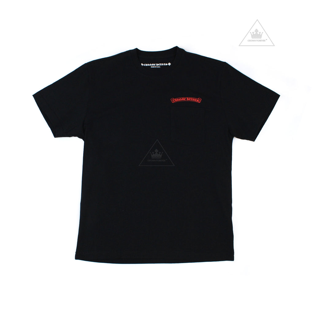 CH Matty Boy Short Sleeve T Shirt Black (Glow In The Dark)
