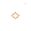 Chrome Hearts 22k Gold Tiny E CH Plus Ring