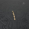 Chrome Hearts 22K Yellow Gold Tiny E CH Plus 3 Drop