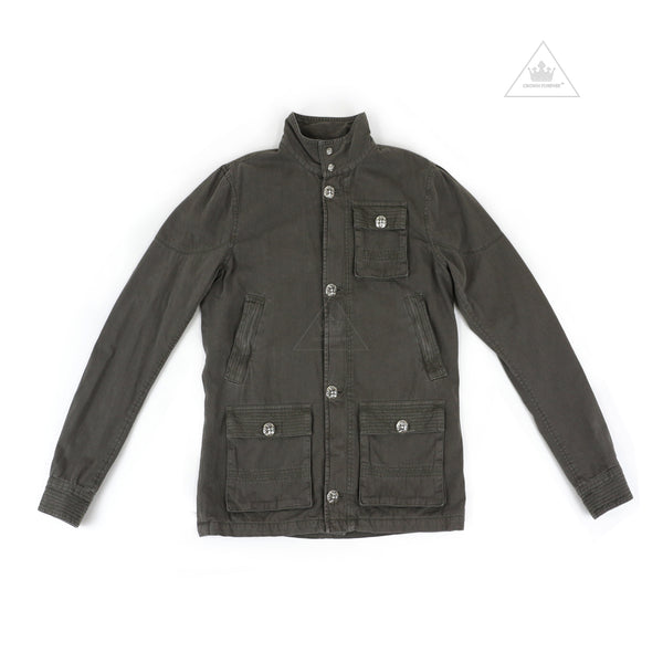 Chrome Hearts Cherry Bomb Jacket in Army Green