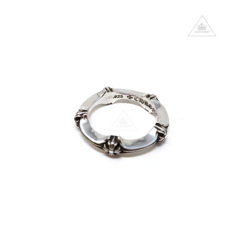 Chrome Hearts Plus & Bone Ring