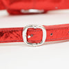Chrome Hearts Snat Pack Mini Rhodium Plate Red