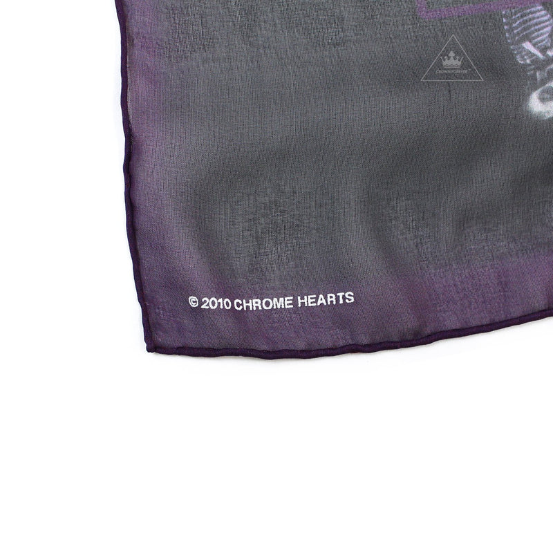 Chrome Hearts Foti Silk Scarf