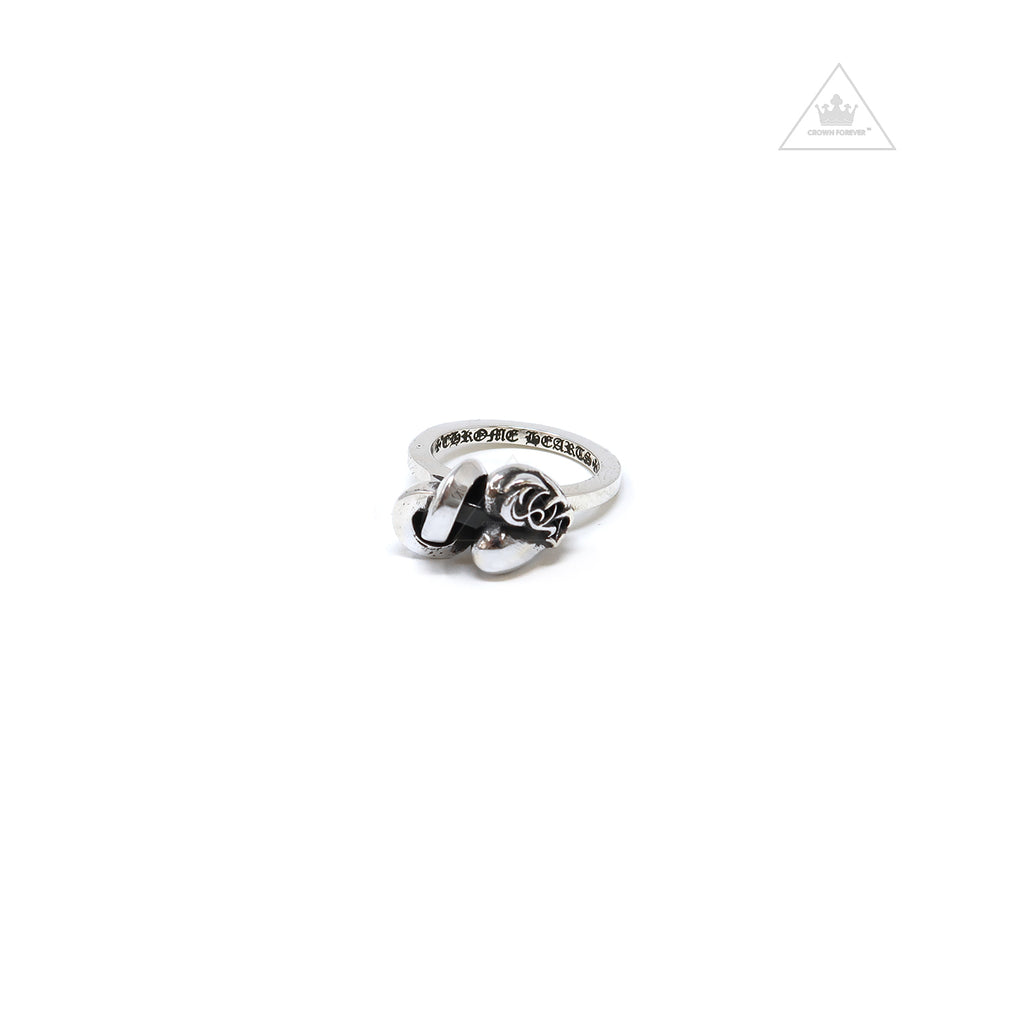 Chrome Hearts I Heart You Knot Ring
