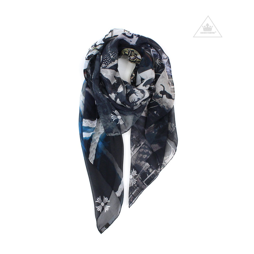Chrome Hearts Rolling Stones Scarf
