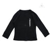 CH Baby 3Cross Black Thermal Long Sleeve Shirt 6M