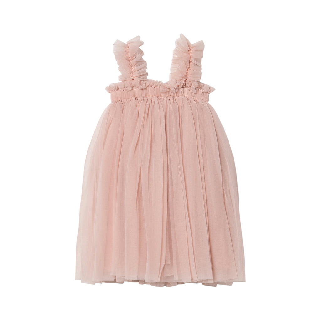 DOLLY by Le Petit Tom TUTU DRESS BEACH COVER UP ballet pink