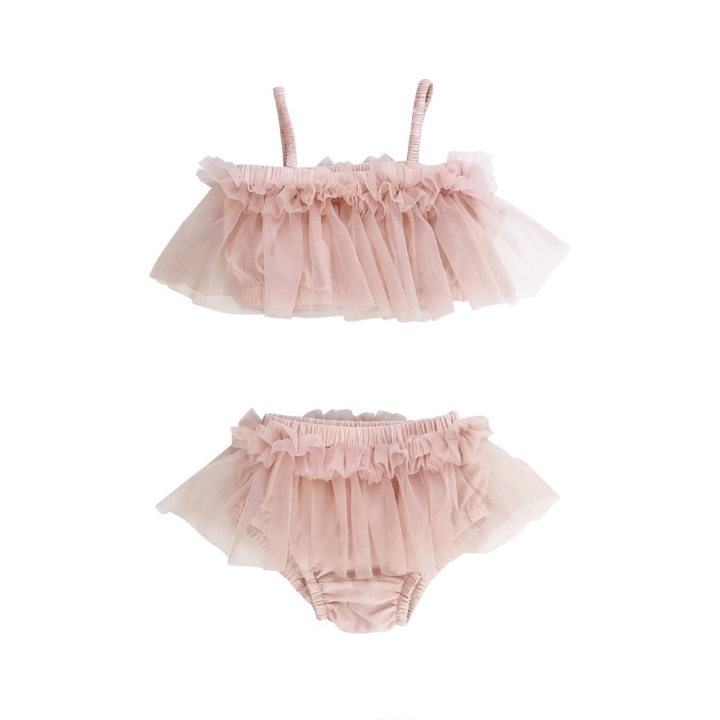 DOLLY by Le Petit Tom BEACH BALLERINA BIKINI/ UNDERWEAR ballet pink