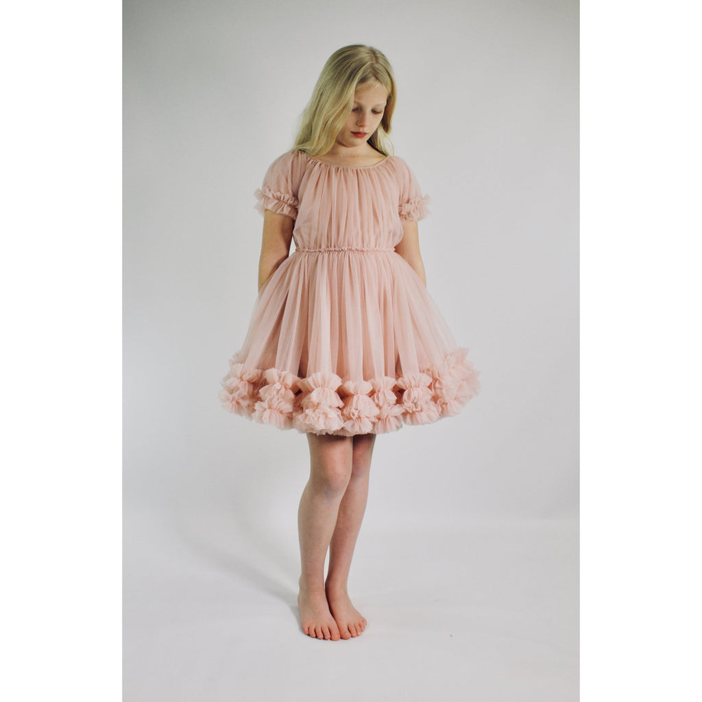 DOLLY by Le Petit Tom FRILLY DRESS pink
