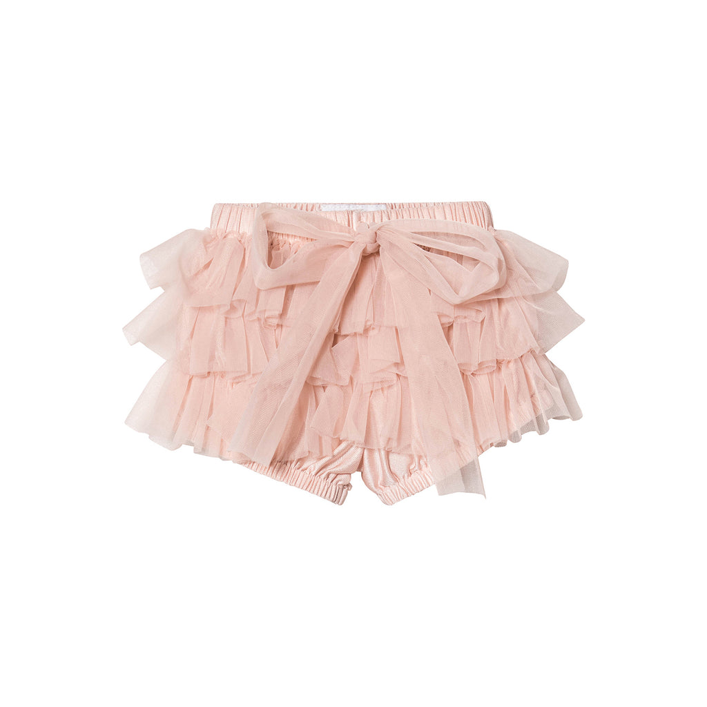 DOLLY by Le Petit Tom FRILLY PANTS Tutu Bloomer ballet pink