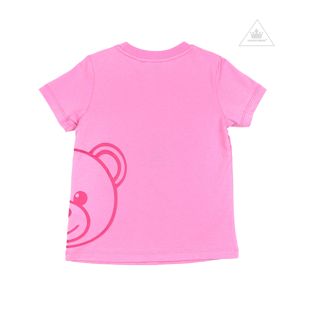 Moschino Kids Large Teddy Bear T Shirt Pink