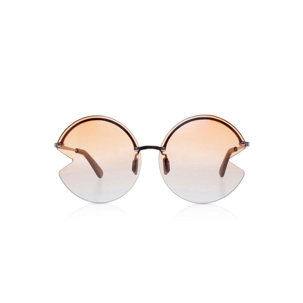 Sons + Daughters Eyewear Happy Dawn Orange Sunglasses