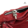 Chrome Hearts BS Fleur Red Bolo Fringe Bag