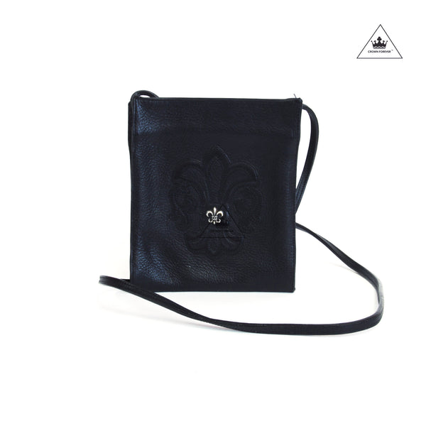 CH Square BS fleur leather crossbody bag