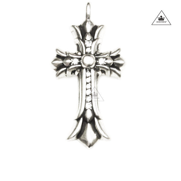 Chrome hearts Diamond Cross Pendant