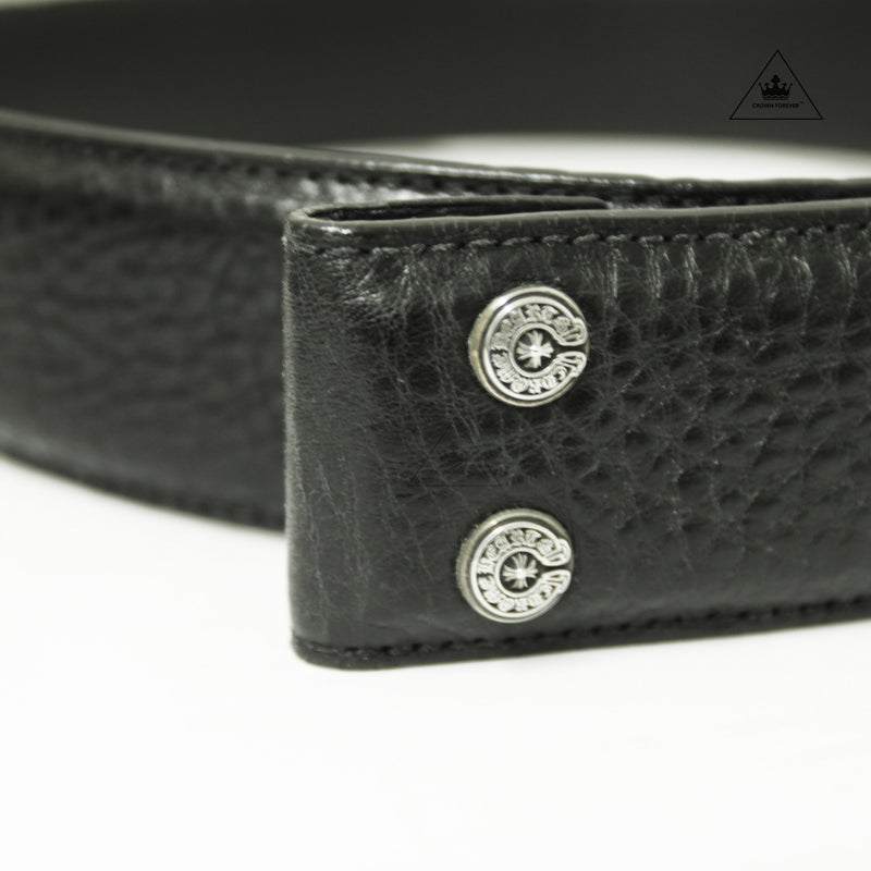 Chrome Hearts Leather Belt