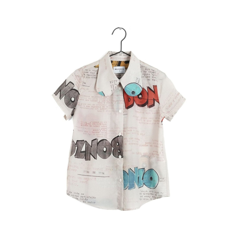 Wolf and Rita Girl Adosinda Bonzo Blouse