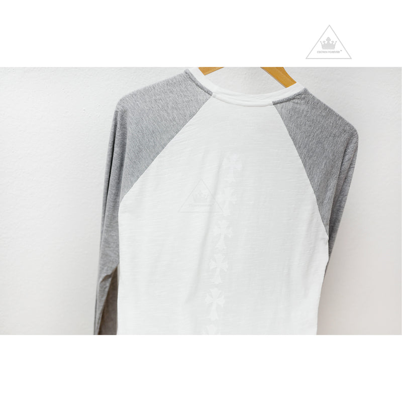 CH Cross Straight Long Sleeve T Shirt