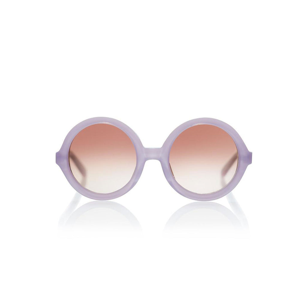 Sons + Daughters Eyewear Lenny Lavender Purple Sunglasses