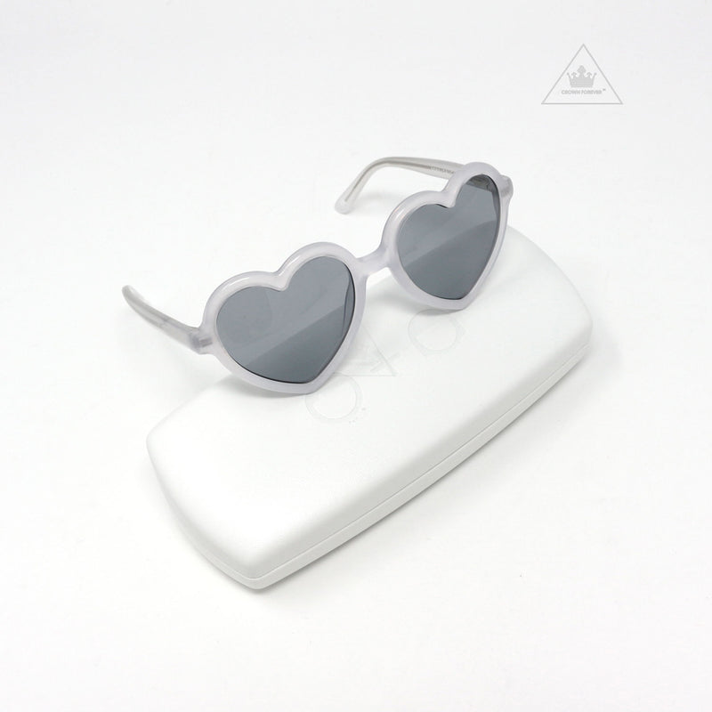 Sons + Daughters Eyewear Lola Coconut White Sunglasses