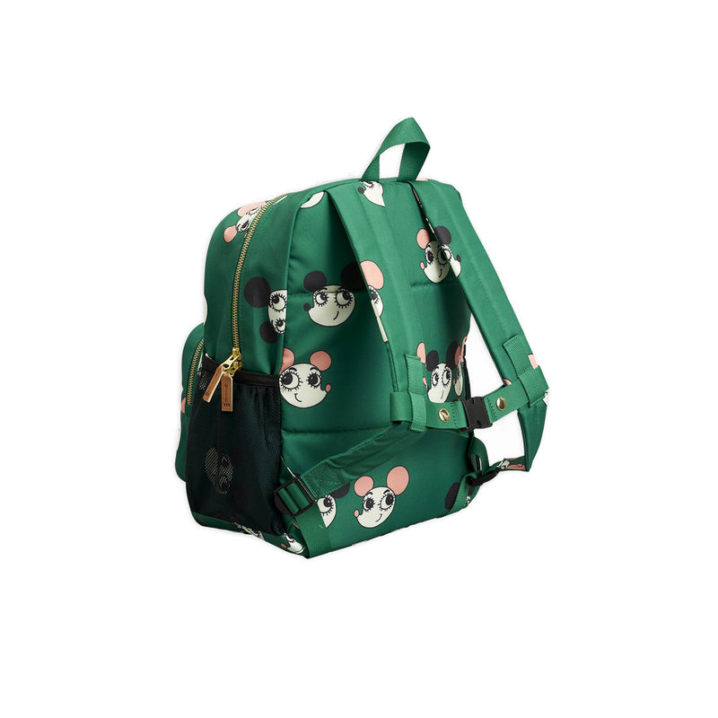 Mini Rodini Ritzratz School Bag Green