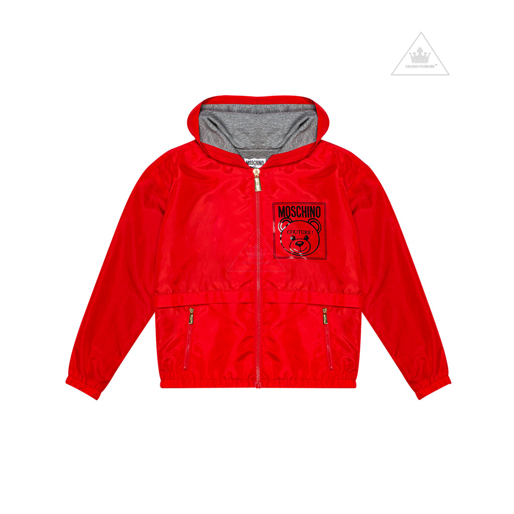 Moschino Kids Mini Me Couture Jacket Red