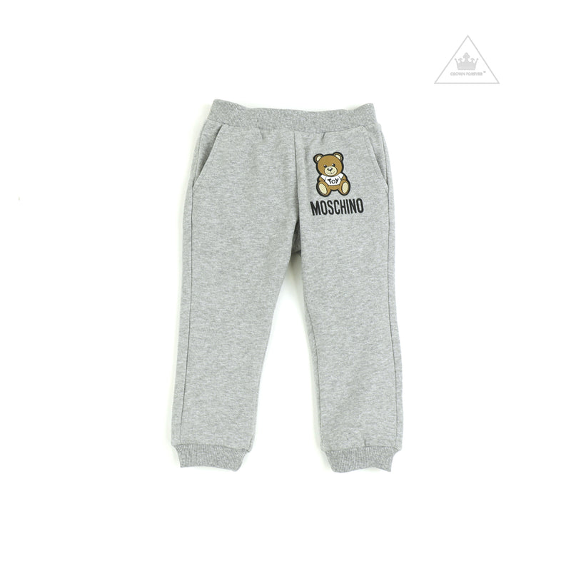 Moschino Kids Sweatpants With Toy Bear Logo
