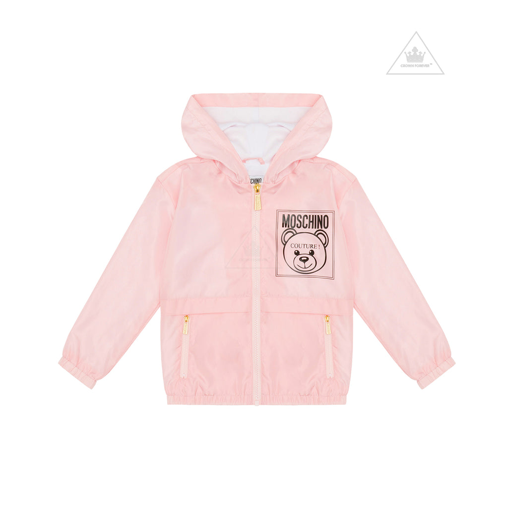 Moschino Kids Mini Me Couture Jacket Rose