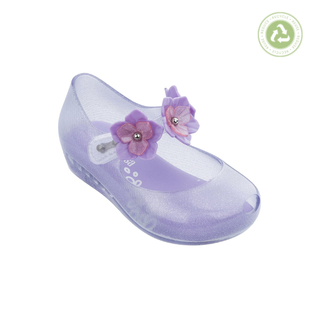 Mini Melissa Ultragirl Flower II BB Purple Clear