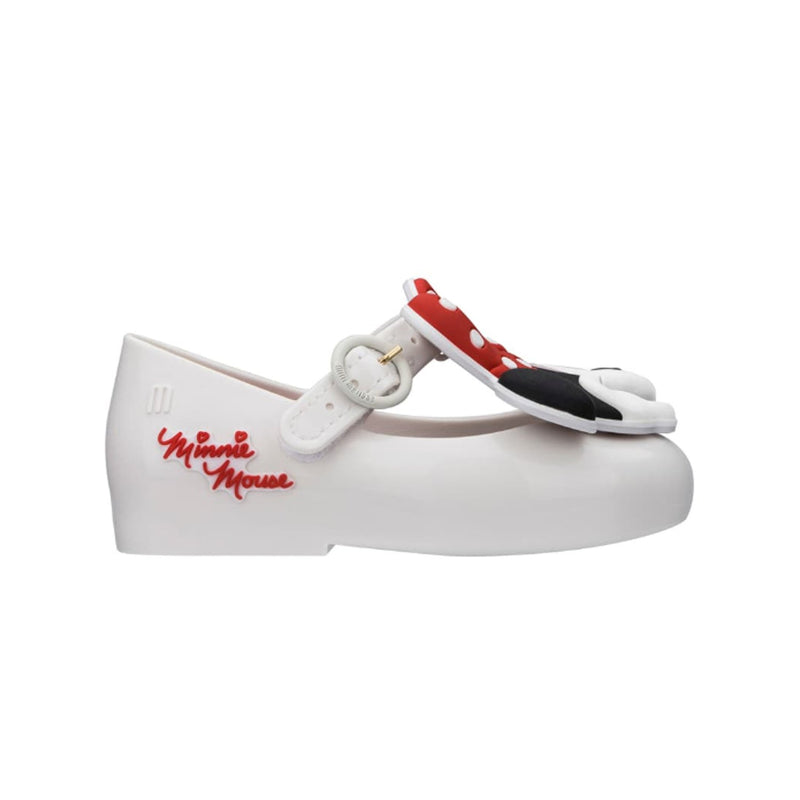 Mini Melissa x Disney Minnie Mouse Mary Jane Flat White