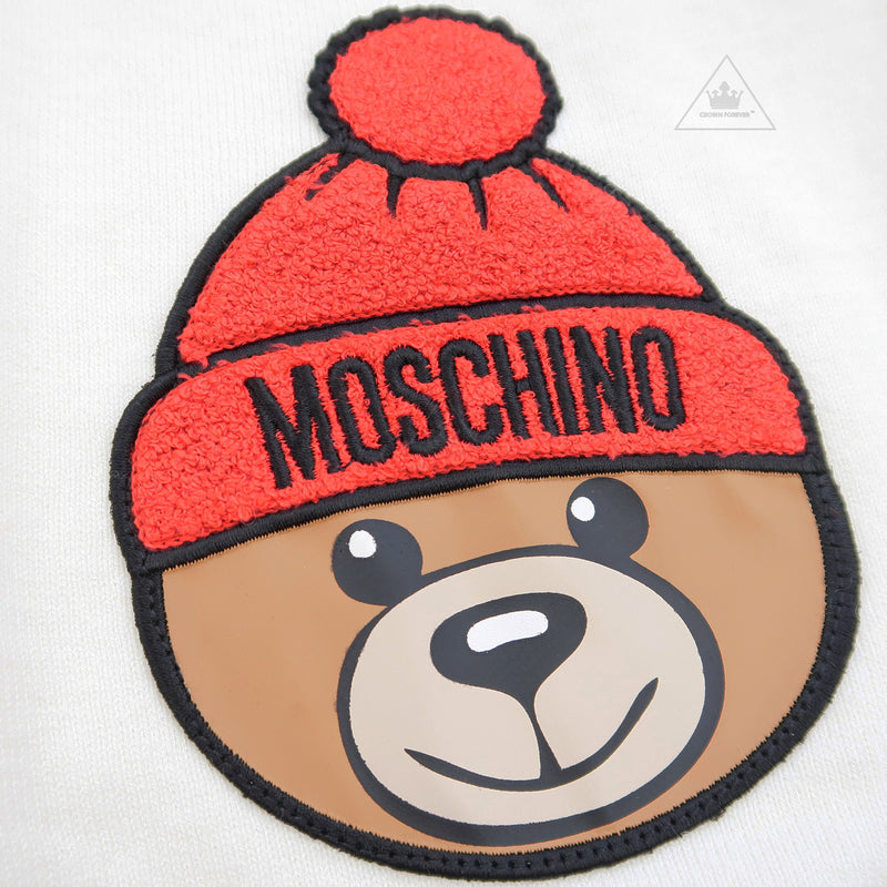 Moschino Baby Sweater With Toy Bear Cloud