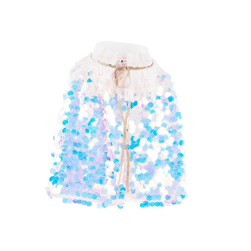 Petite Hailey Short Mermaid Cape