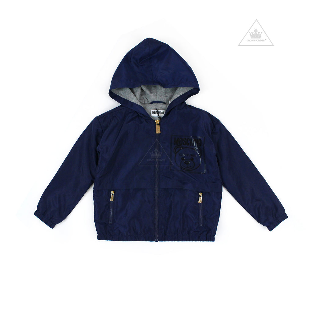 Moschino Kids Mini Me Couture Jacket Navy