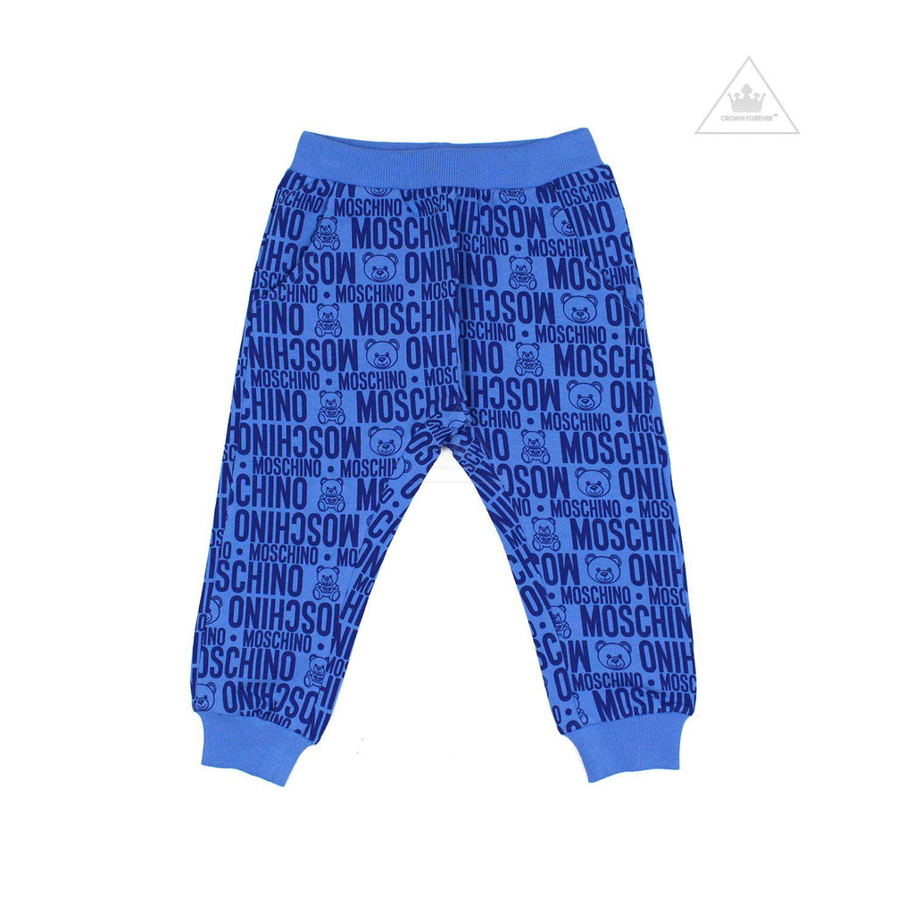 Moschino Baby Toy Logo Print All Over Sweatpants