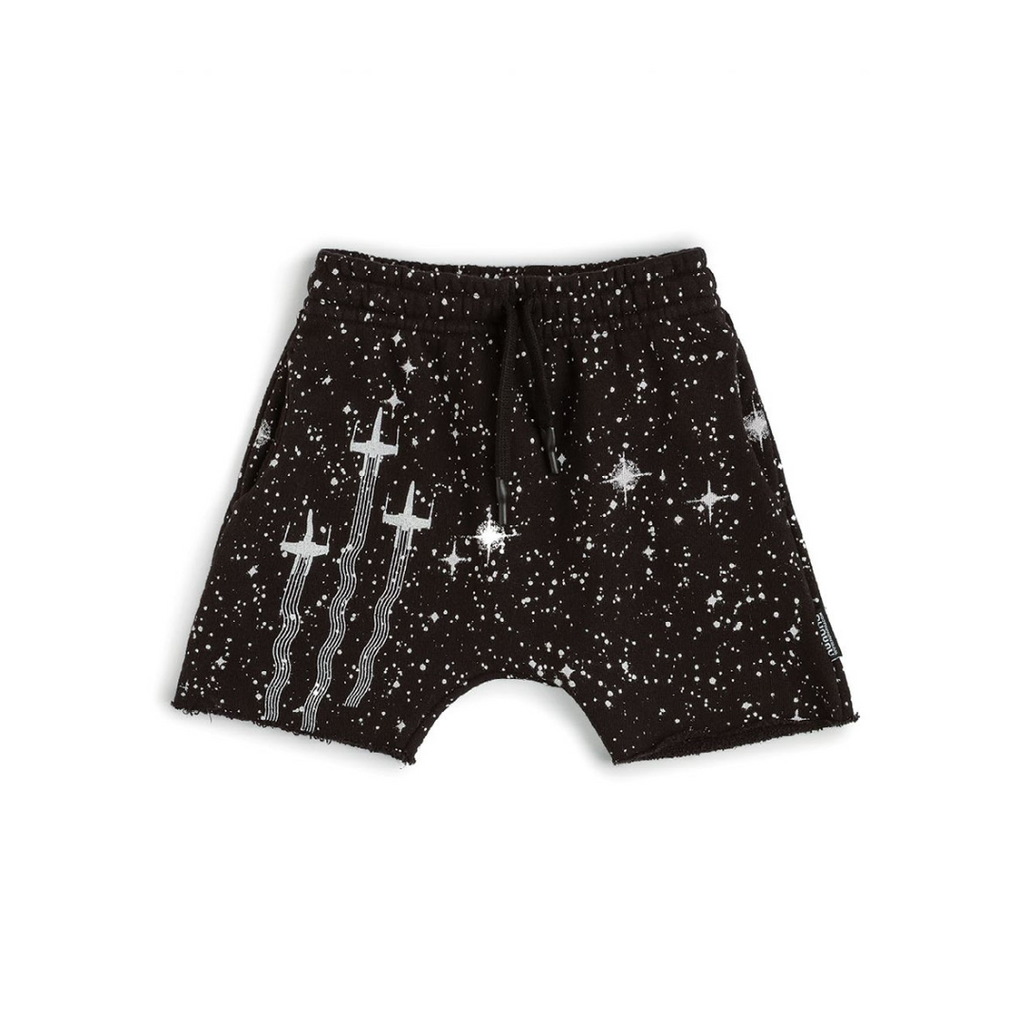 Nununu World Star Wars X-wing galaxy sweatshorts Unisex